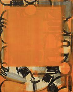 Stuart Cumberland - Fort/Da Orange, 2009 / Oil on Linen / 152 x 122 cm George Condo, Willem De Kooning, Color Combos, Contemporary Art, Museum, In This Moment, Artist, Painting, Instagram