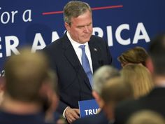 Bush ran argound over Trump anti-establishment politics #Politics #iNewsPhoto