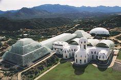 Biosphere 2 is a self-sustaining colonization. (Courtesy University of Arizona Biosphere 2)