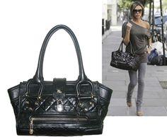 Celeb-beloved Burberry Manor Bag #Burberry #VictoriaBekcham #JessicaAlba #SiennaMiller
