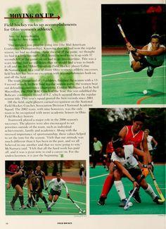 Athena, 2007. Field hockey. :: Ohio University Archives