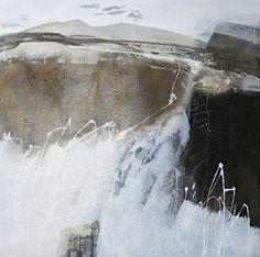 """Renate Migas, """"aus der Serie Landschaft/Elemente"""" Mit einem Klick auf 'Als Kunstkarte versenden' versenden Sie kostenlos dieses Werk Ihren Freunden und Bekannten."""