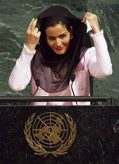 H.H. Sheikha Mozah Bint Nasser of Qatar