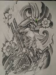 Resultado de imagem para tattoo de samurai