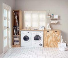 wasmachine kast google zoeken kast pinterest laundry | Karin ...