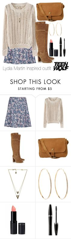 Lydia Martin inspired outfit/Teen Wolf by tvdsarahmichele on Polyvore featuring M&S, MICHAEL Michael Kors, Fat Face, Lana, House of Harlow 1960 and Mary Kay