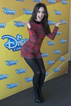 Sofia Carson promoting Disney's Descendants in Madrid in June 2015...