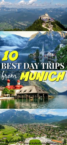 Check our list of 10 Best Day Trips from Munich Germany | Munich Travel Guide #Germany #travelguide #bestplaces #europetrip