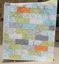 Backyard Baby Boy Quilt MADE TO ORDER by SunnysideDesigns2 on Etsy, $148.00
