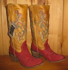 Rivertrail Mercantile - Corral Red Python Boots C1114, $318.00 (http://www.rivertrailmercantile.com/corral-red-python-boots-c1114/)