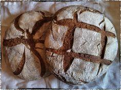 Rye bread on sourdough