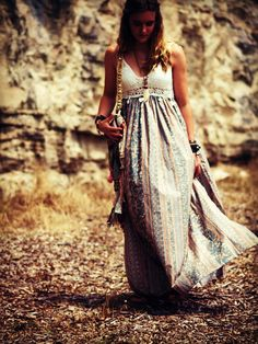 Custom Bohemian maxi dress crochet cotton boho dress halter gypsy dress peasant dress festival dress long dress hippie dress free spirit