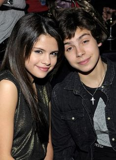 Selena Gomez and Jake T. Austin