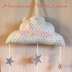 Welcome Arianna #handmadewithlove #danydan #justforyou #cotton #newbirth #stars #cucitocreativo #cloud #arianna