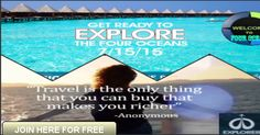 Don\'t miss this Amazing Opportunity, Join FOUR OCEANS  FOR FREE before and the set up fee will be waived! for a short period of time. Secure your position in the Revolution of Travel and Elevation of your MINDSET through Personal Development