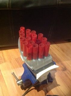 Instructable: how to remove the plastic from spent shotshells!