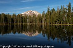 Summit Lake South Campground, Lassen Volcanic National Park
