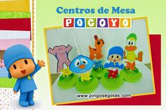 Centros de Mesa Pocoyo