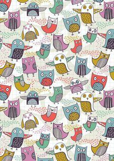 caroline pratt - owls