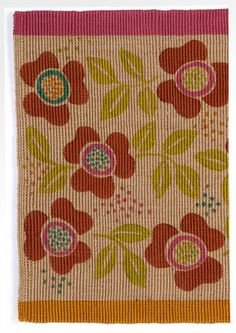 """Helga"" door mat in jute – Fabulous rugs – GUDRUN SJÖDÉN – Webshop, mail order and boutiques 