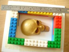 Fab Tips & Technique Tutorials for Press Casting in Sculpey.  Love the idea of using Legos to make a Mold Box- easy!