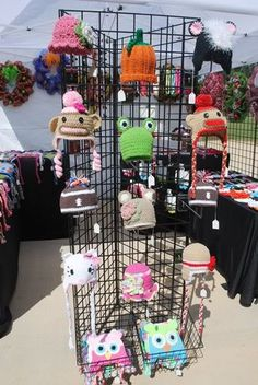 My Craft Show Booth Display - Hip Girl Boutique Free Hair Bow Instructions--Learn how to make hairbows and hair clips, FREE!