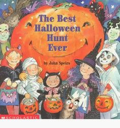 This book I remember specifically asking my mom to read to me all year round, which she always found odd because it is a halloween book. I loved this book because it was very interactive and my sister and I always had a competition for who could find the picture first.