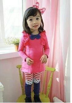 Idr 140k Tie Pink Top + Legging