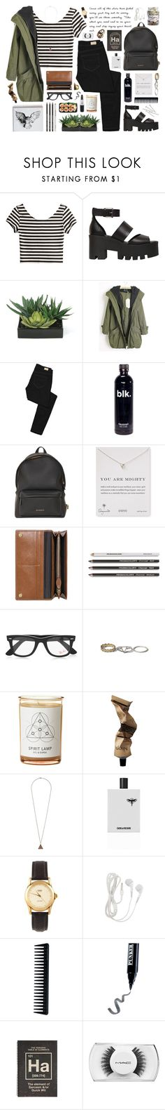 """Spirit in the Sky"" by ctodtims ❤ liked on Polyvore featuring H&M, Windsor Smith, Lux-Art Silks, Paige Denim, Givenchy, Dogeared, Mulberry, Bamford, Ray-Ban and Abercrombie & Fitch"