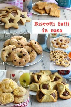 Italian Cookies, Italian Desserts, Mini Desserts, Nutella, Biscotti Cookies, Italy Food, How To Make Cookies, Cake Recipes, Breakfast Recipes
