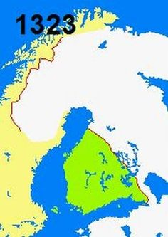 Finland bordering the Baltic Sea, Gulf of Bothnia, and the Gulf of Finland, between Norway to the north, Sweden to History Of Finland, Prehistory, World History, Food Pictures, Mythology, Norway, Evolution, Maps, Baltic Sea