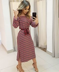 Swans Style is the top online fashion store for women. Shop sexy club dresses, jeans, shoes, bodysuits, skirts and more. Modest Wear, Modest Dresses, Modest Outfits, Modest Fashion, Women's Fashion Dresses, Cute Dresses, Vintage Dresses, Beautiful Dresses, Dress Outfits
