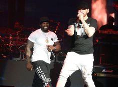 Eminem Performs With 50 Cent, Dr. Dre and More Stars at Coachella 2018 Eminem Funny, New Eminem, Hip Hop Festival, Coachella 2018, Coachella Style, Coachella Valley, Eminem Wallpapers, Estilo Cholo, Eminem Photos