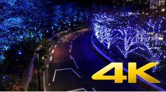 Tokyo Midtown Illuminations - 東京ミッドタウン - 4K Ultra HD