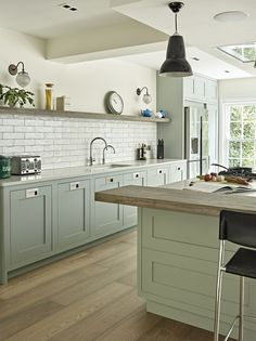 A Shaker Kitchen with Modern and Traditional Touches - Get The Look