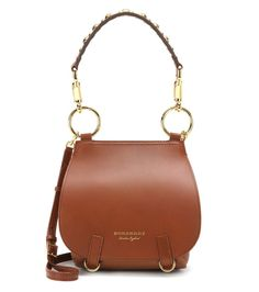 Burberry Bridle tan leather shoulder bag
