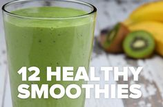 12 Ways To Make Healthy Smoothies