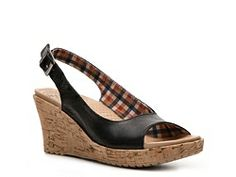 Crocs A-Leigh Wedge Sandal @Dani W