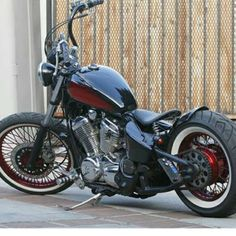 THIS IS MY RIDE 2002 HONDA SHADOW VLX LOOKING LIKE A CLASSIC