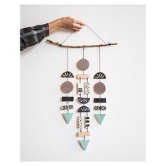 Just look at this handmade beauty! We just love this mobile / wall decoration by Sofia Nohlin in California. In the shop now. #finelittleday
