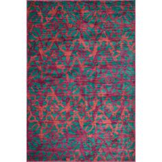 Laurent Plum/ Multi Rug (7'7 x 10'5) | Overstock.com Shopping - The Best Deals on 7x9 - 10x14 Rugs