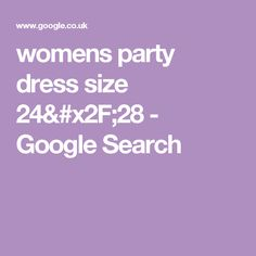 womens party dress size 24/28 - Google Search