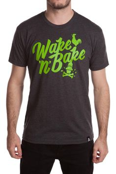 54948bed Our Wake 'N' Bake t-shirt is now available via http:/