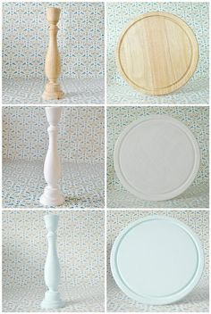 Making a cake stand - painting | Flickr: Intercambio de fotos
