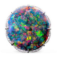 Lightning Ridge Black Opal Ring, Carats - Jewelry, Since 1912 Opal Jewelry, Diamond Jewelry, Silver Jewelry, Jewellery, Antique Rings, Antique Jewelry, Opals For Sale, Black Opal Ring, Types Of Opals