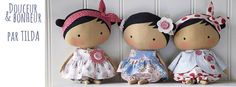 Tilda's new adorable dolls, the new book is out soon