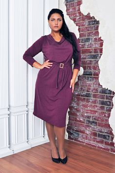 Plus Size Casual & Work Dress by BeIn16.com