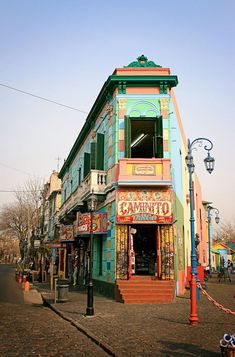 """CAMINITO, the famous street of Carlos Gardel in Buenos Aires. Caminitos is in the top Must see Places"""" in Buenos Aires. Check out our member AV Business & Communication in Argentina! Places To Travel, Places To See, Travel Destinations, Argentine Buenos Aires, Places Around The World, Around The Worlds, Argentina Travel, Travel Around, South America"""