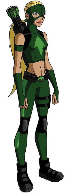 Artemis from Young Justice Artemis Young Justice, Young Justice League, Young Justice Characters, Dc Characters, Superhero Characters, Artemis Crock, Female Thor, X Men Evolution, Comic Book Publishers