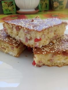 Greek Recipes, Baby Food Recipes, Dessert Recipes, Desserts, Cookbook Recipes, Cooking Recipes, Greek Sweets, Cooking Cake, Breakfast Snacks